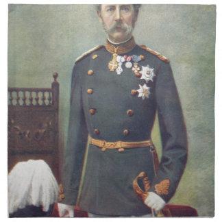 Su majestad el rey Of Dinamarca Servilleta De Papel