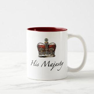 Su majestad su alteza taza