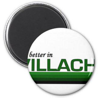 Su mejor en Villach, Austria Imán Redondo 5 Cm