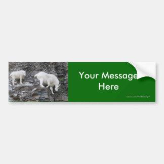 Su mensaje etiqueta de parachoque