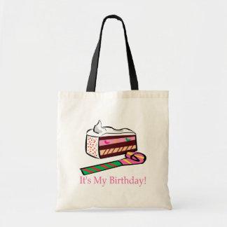 Su mi cumpleaños bolsa tela barata