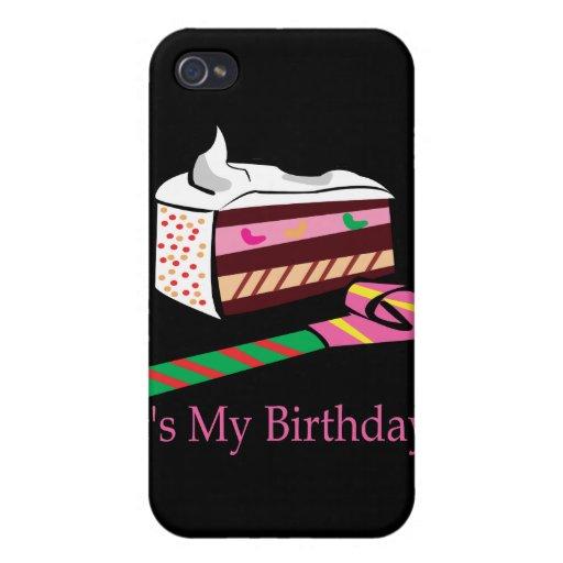 Su mi cumpleaños iPhone 4/4S carcasas