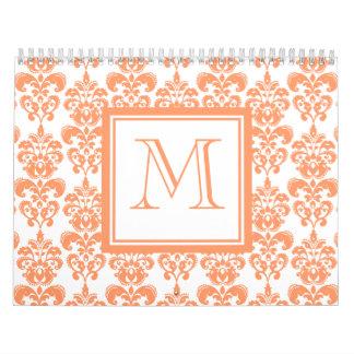 Su monograma, producto anaranjado del modelo 2    calendarios