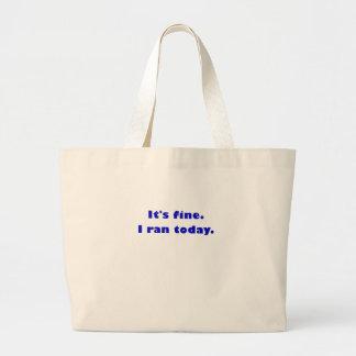Su multa que funcioné con hoy bolsa de mano