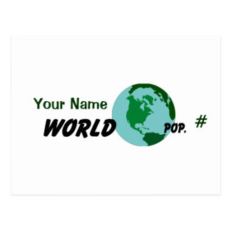 Su mundo postal