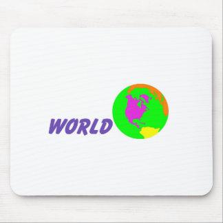 Su mundo tapetes de ratón