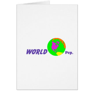 Su mundo tarjeta
