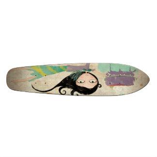 Su muñeca sabrosa Skateboad oldstyled del feliz Patines