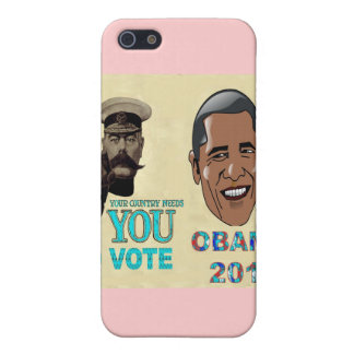 Su necesidad del país usted de votar a OBAMA 2012 iPhone 5 Fundas