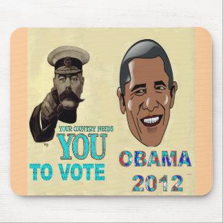 Su necesidad del país usted de votar a OBAMA 2012 Mousepad