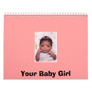 Su niña calendario