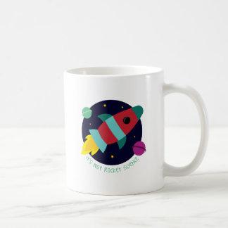 Su no ingeniería espacial taza de café