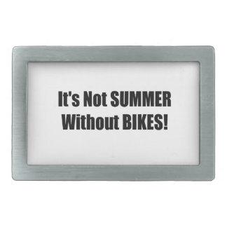 Su no verano sin las bicis hebilla de cinturon rectangular