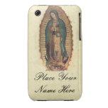 Su nombre nuestra señora de Guadalupe Iphone 3 3G Case-Mate iPhone 3 Funda