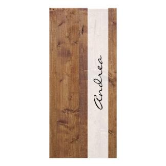 Su nombre - pared del granero hecha de tablones de lonas