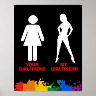 Su novia. Mi novia Posters