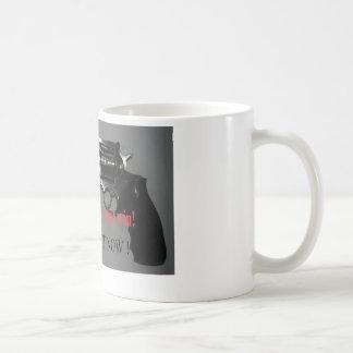 Su nunca demasiado atrasado a retirarse taza básica blanca