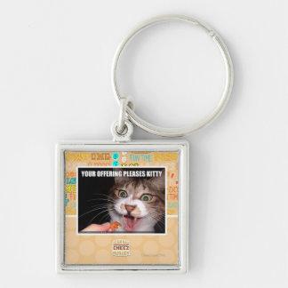 Su ofrecimiento satisface el gatito llavero personalizado