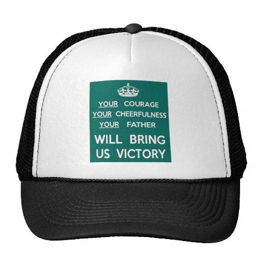Su padre nos traerá la victoria gorra