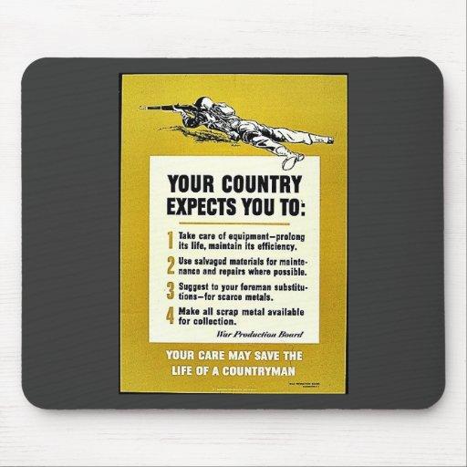 Su país le cuenta con: tapete de raton