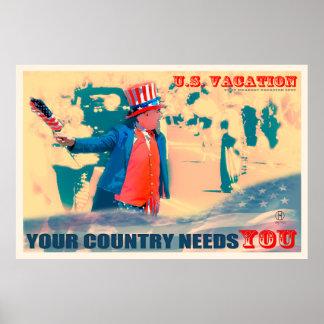 Su país le necesita: Posters del viaje de Dapixara