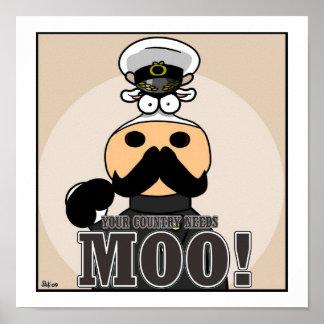 ¡Su país necesita el MOO! Impresiones