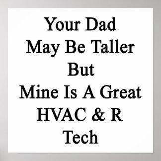 Su papá puede ser más alto pero la mina es una posters