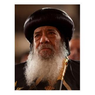 Su papa Shenouda del Holiness III Tarjetas Postales