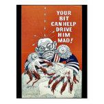 ¡Su pedazo puede ayudar a conducirlo enojado! Tarjeta Postal