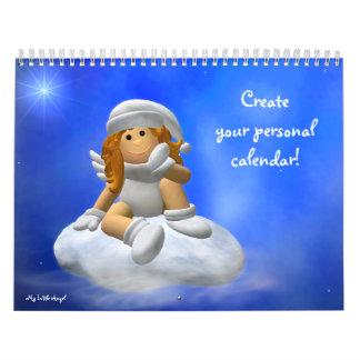 ¡Su personal mi pequeño calendario del ángel!