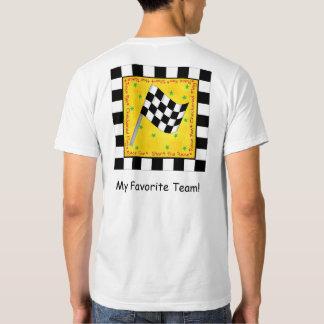 Su personalizado a cuadros de la bandera del camisas