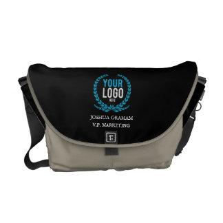 Su personalizado del cargo del logotipo el | del bolsa de mensajeria