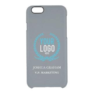 Su personalizado del cargo del logotipo el | del funda clearly™ deflector para iPhone 6 de uncommon