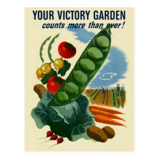 Su postal del jardín de victoria