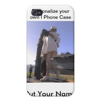 Su propia caja personal del teléfono de I (su imag iPhone 4 Funda