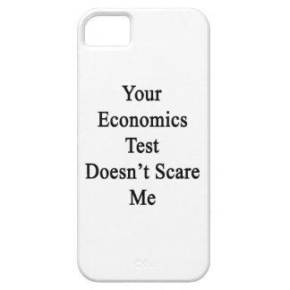 Su prueba de la economía no me asusta iPhone 5 carcasa
