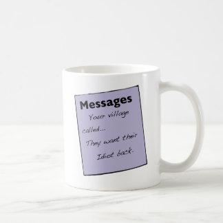 Su pueblo llamó a Mug Taza Clásica