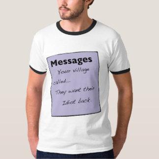 Su pueblo llamó a T-Shirt de Men's Remeras
