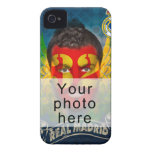 Su Real Madrid hace frente para su cubierta de Case-Mate iPhone 4 Protectores