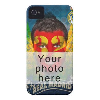 Su Real Madrid hace frente para su cubierta de Case-Mate iPhone 4 Funda