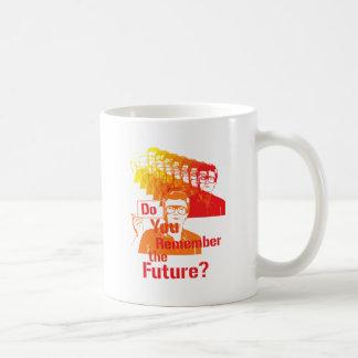 ¿Su recuerdan el futuro? Taza Clásica
