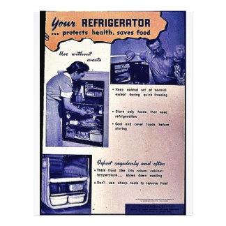 """Su refrigerador folleto 8.5"""" x 11"""""""