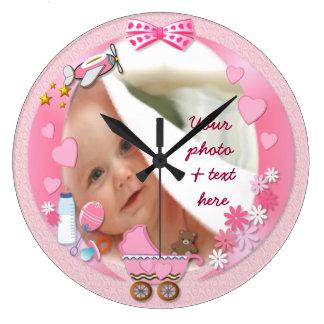 Su reloj de la foto del bebé