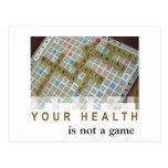 Su salud no es una postal del juego