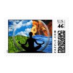 Su sello postal de USPS del uno mismo verdadero