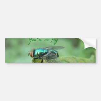 Su tan serie de la mosca etiqueta de parachoque