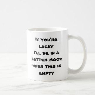 Su taza afortunada