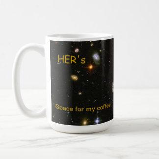 Su taza de café del espacio