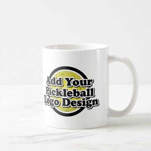 Su taza del logotipo de Pickleball