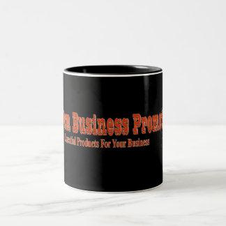 Su taza del logotipo del negocio